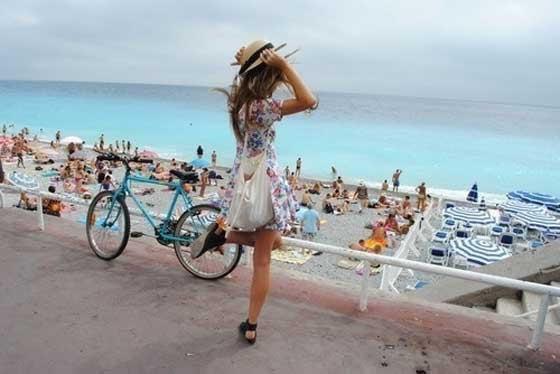 beach-dress-france-girl-nice-ocean-Favim