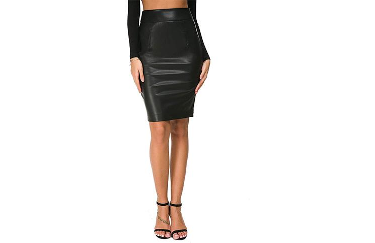 Kožne suknje su u trendu