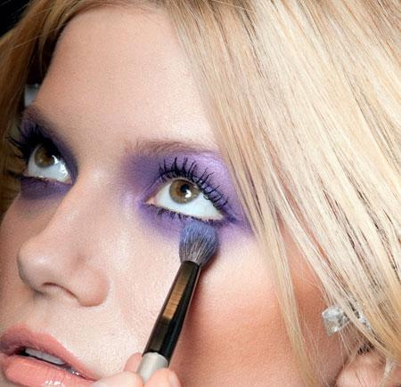 Akvarel  oči