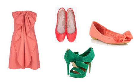 Cipele jarkih boja