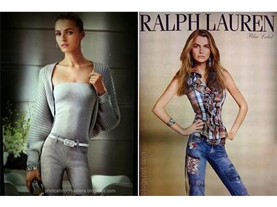 Ralf Loren model sa tankim strukom