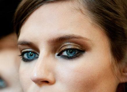 Naglašen donji deo oka