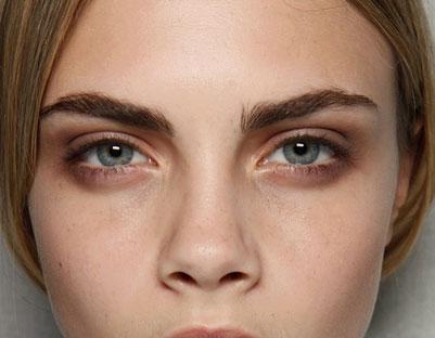 Prirodno našminkane oči