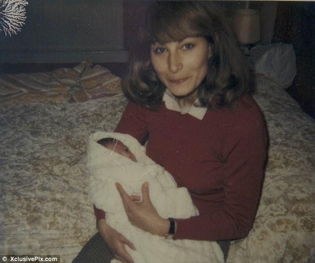 Kejt Middletone kao beba
