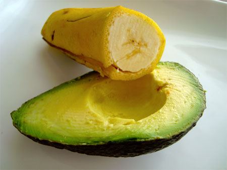 Tretman sa avokadom i bananom