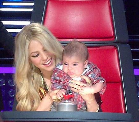 šakira i njena beba