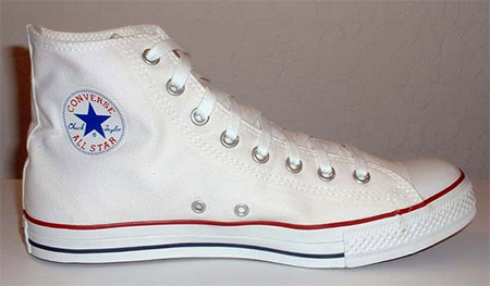 Bele All Star Converse Patike