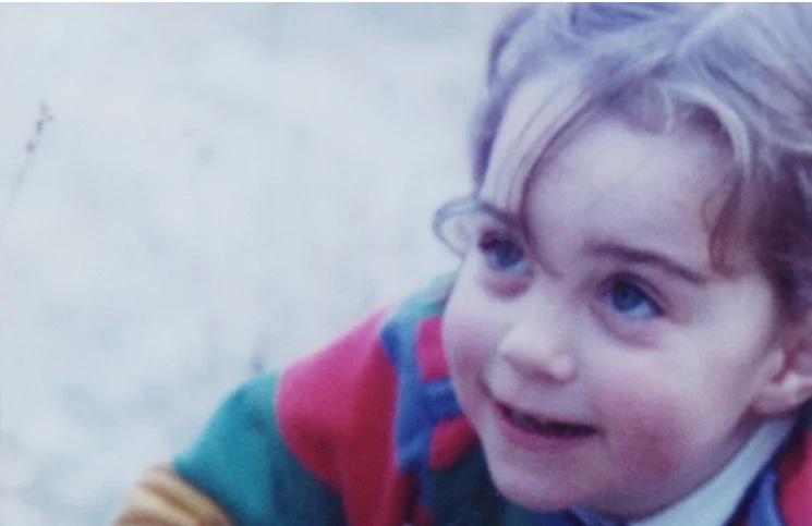 Slike Kejt Midlettone kad je bila mala