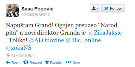 sasa popovic napusta grand