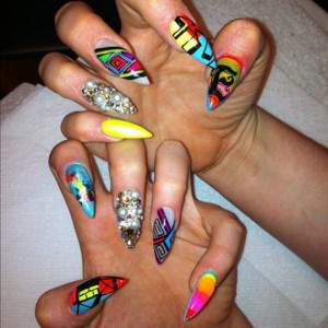 Nail art nokti