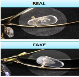 ray ban aviator original vs fake