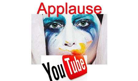 applause video Lady Gaga