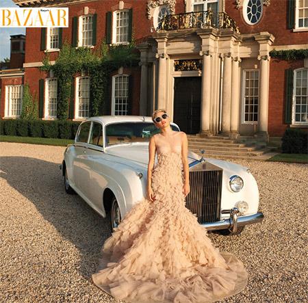 miley cyrus za Harpers Bazar