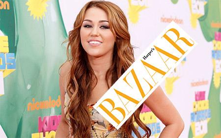 Miley Cirus na naslovnoj Harpers Bazara