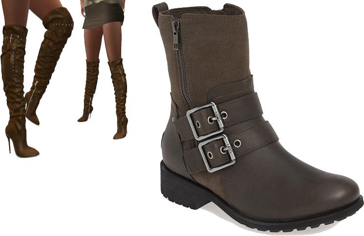 Gumene čizme za jesen 2013