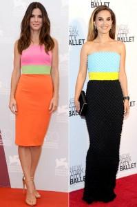 Tri kolor haljina