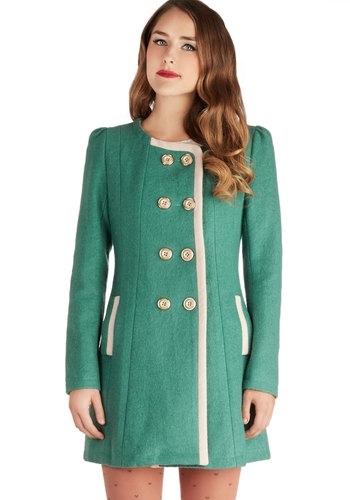 Smaragdno zeleni kaput