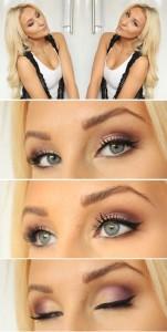 Oči u bojama šljive ( plum eyes)