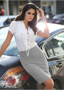 Olovka suknja za posao