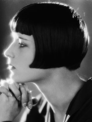 Louise Brooks frizura