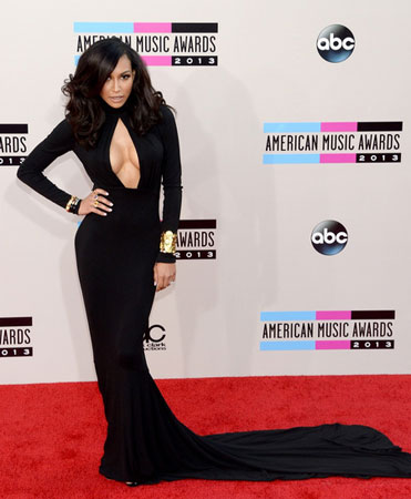 Naya Rivera na American Music Awards 2013
