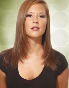Ravna slojevita frizura