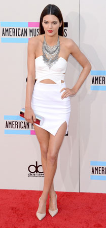 Kendall Jenner na American Awards 2013