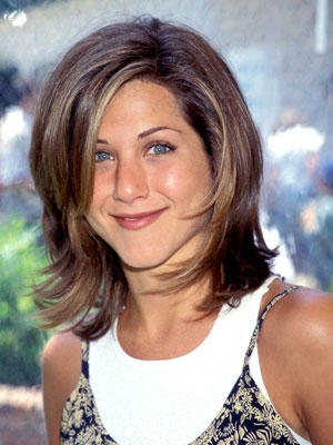 Jennifer Aniston frizura