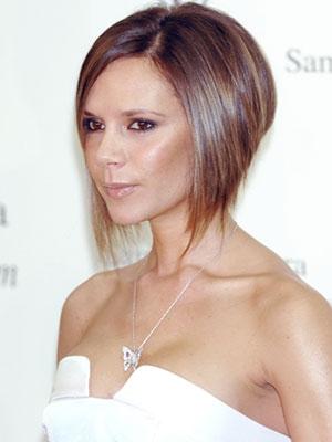 Victoria Beckham frizure