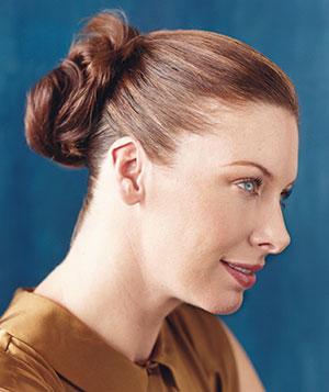 frizura Dvostruka punđa