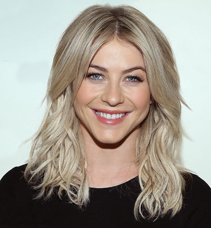 Toplo bela nijansa (white hot)  Julianne Hough