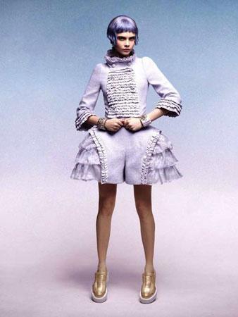 Cara Delevingne u Chanel kampanji 2013 godine