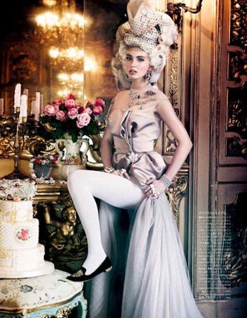 Editorial za japansko izdanje Vogue časopisa oktobra 2012 godine