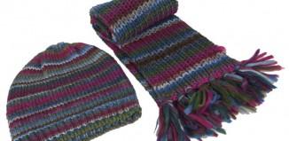 Pletene kape i rukavice