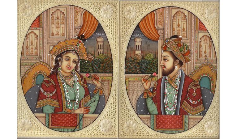 Šah Džahan i Mumtaz Mahal