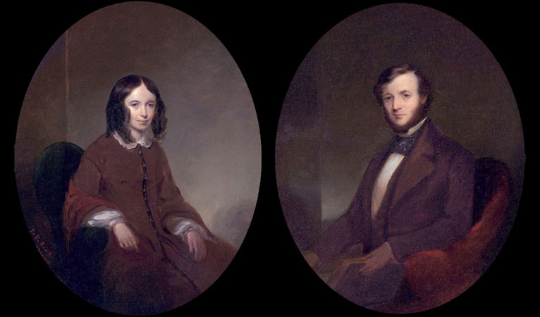 Robert i Elizabet Brauning
