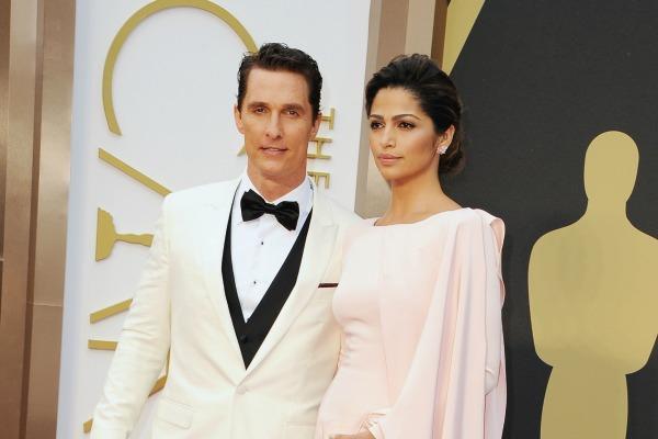 Matthew MacConaughey i Camila Alves