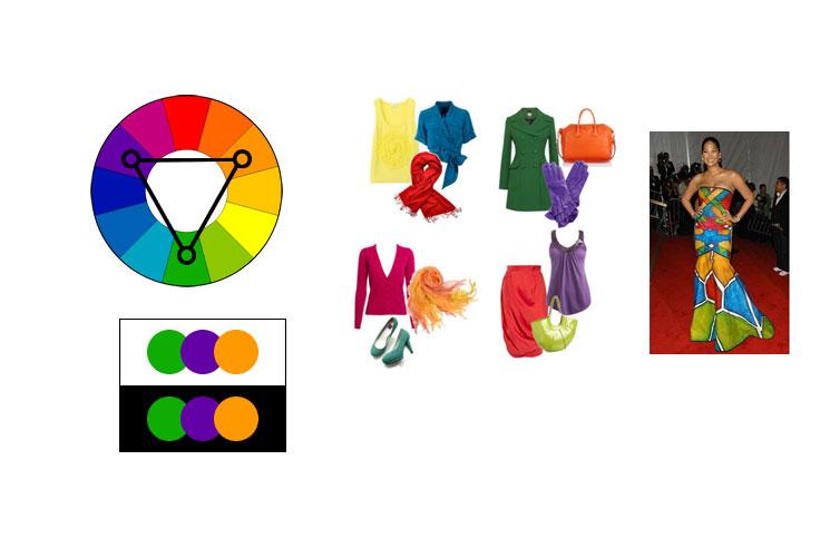 Šema triadnih boja