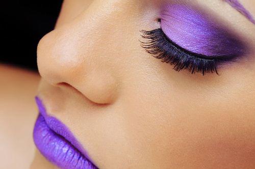Ljubičasta šminka
