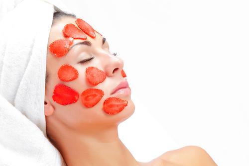 maska za lice od jagoda