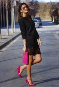 Čipkane suknje za proleće