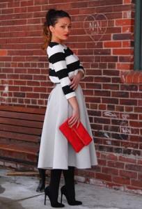 Midi suknje za proleće 2014