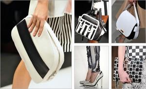 Kombinacija crne i bele boje