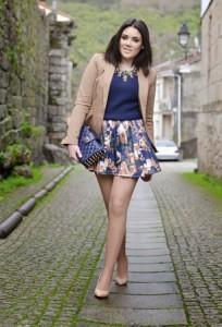 Suknje sa cvetnim printom za proleće 2014