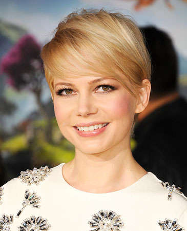 Plava boja Michelle Williams