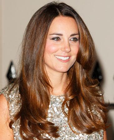 Kate Middleton kestenjasta boja kose