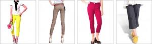 Crop pantalone za prolece