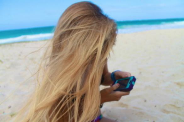 Sunčano plava boja kose