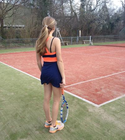 Sportska šik haljina