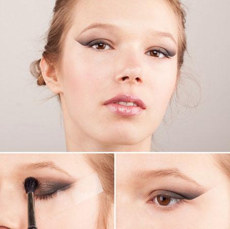 Koristite selotejp za savršene mačje oči